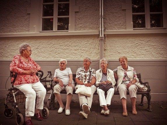 Senioren Damengruppe