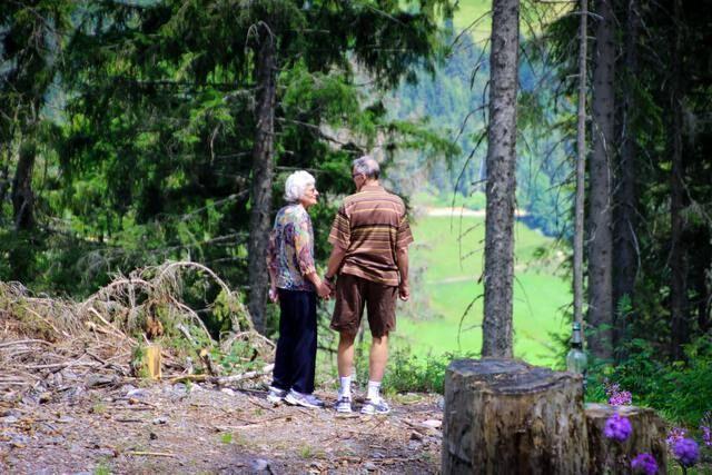 Seniorenurlaub Paar