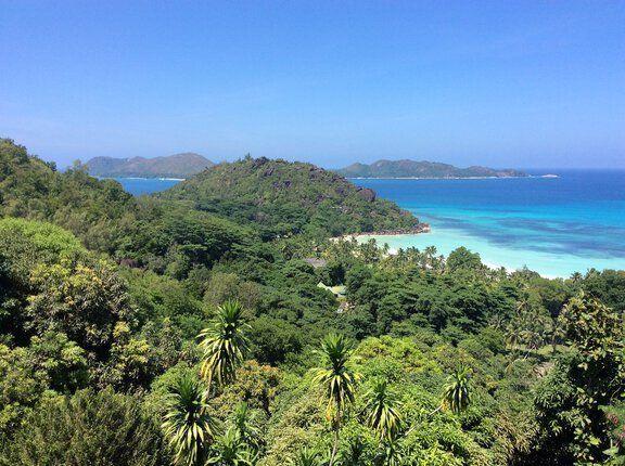 Landschaft Seychellen