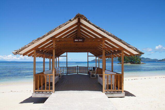 Seychellen Strandhaus