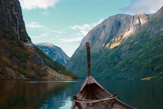 Skandinavien Wikinger Boot