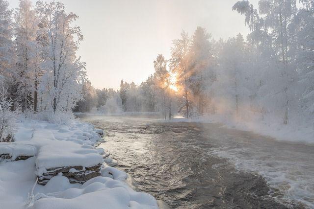 Winter in Skandinavien