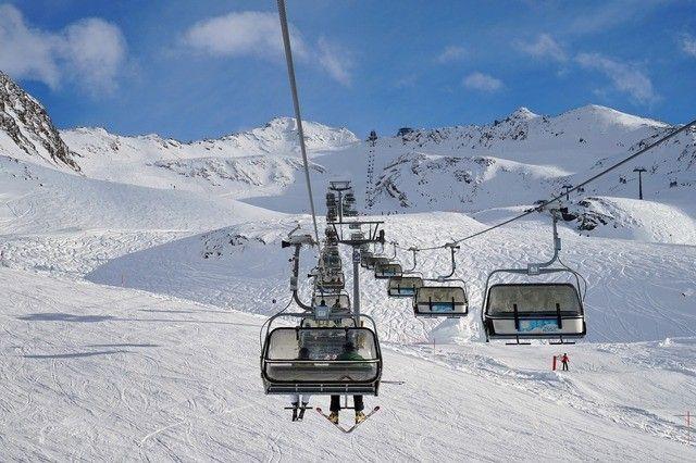 Skilift Ski Urlaub