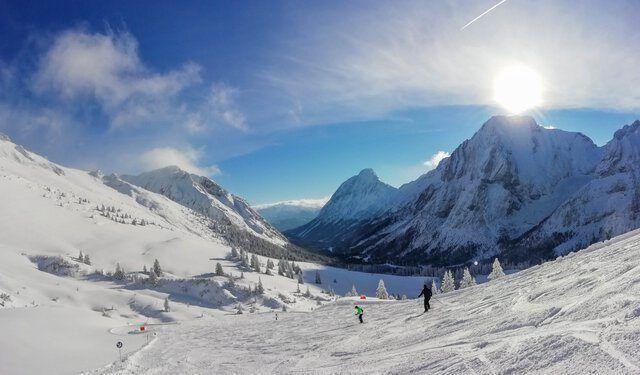 Skiurlaub Skipiste