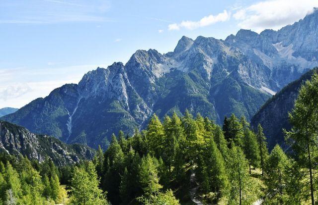 Berge Slowenien