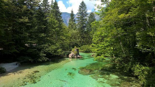 Fluss Slowenien