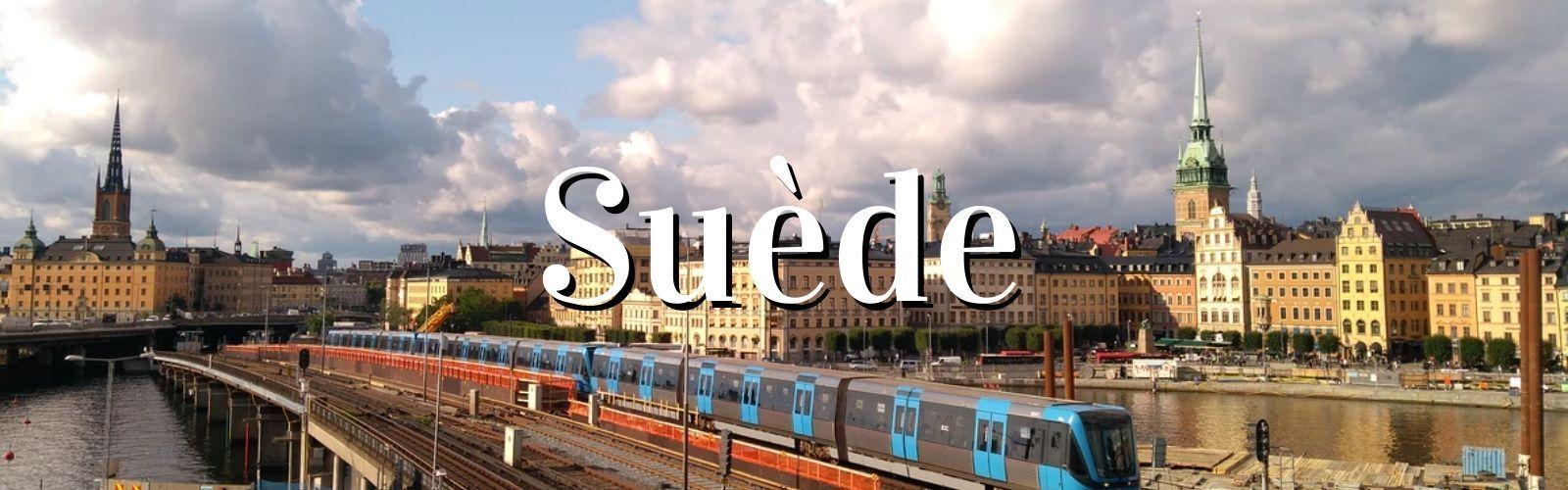 Suède que voir