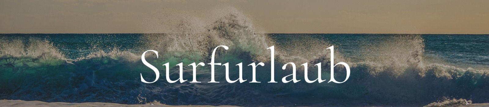 Surfurlaub Banner