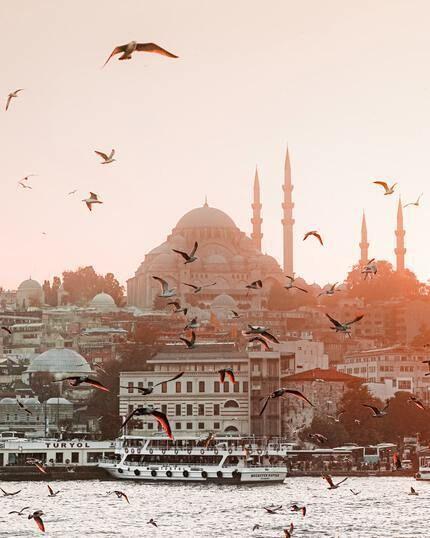 Türkei Stadt Istanbul