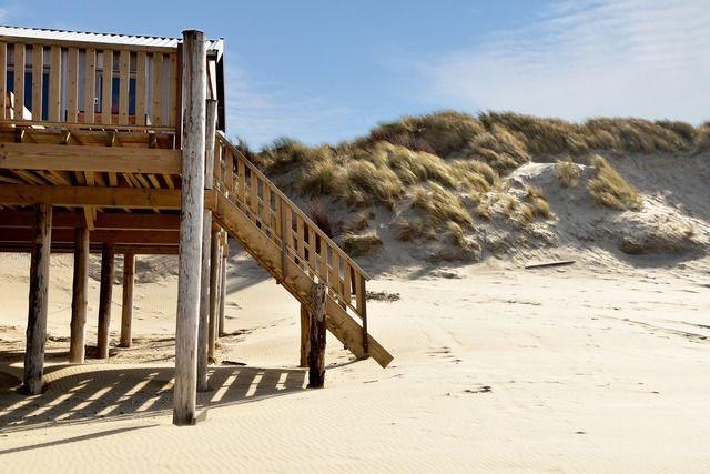 Strandhaus mit Zugang zum Strand