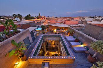 terrasse Riad Dar One