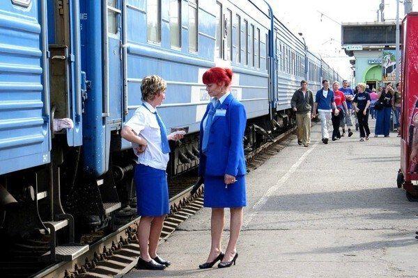Conducteurs voor trein Transsiberië Express