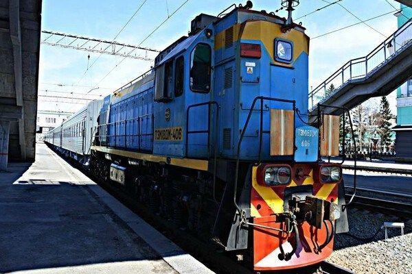 Treintoestel Transsiberië Express