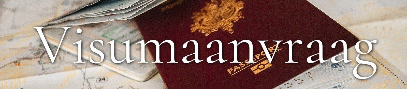 Paspoorten met visumaanvraag
