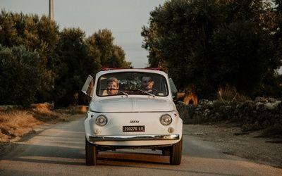 Voiture Mariage italie