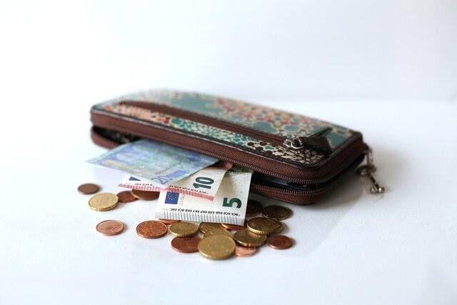 Reisevorbereitung Geldbörse