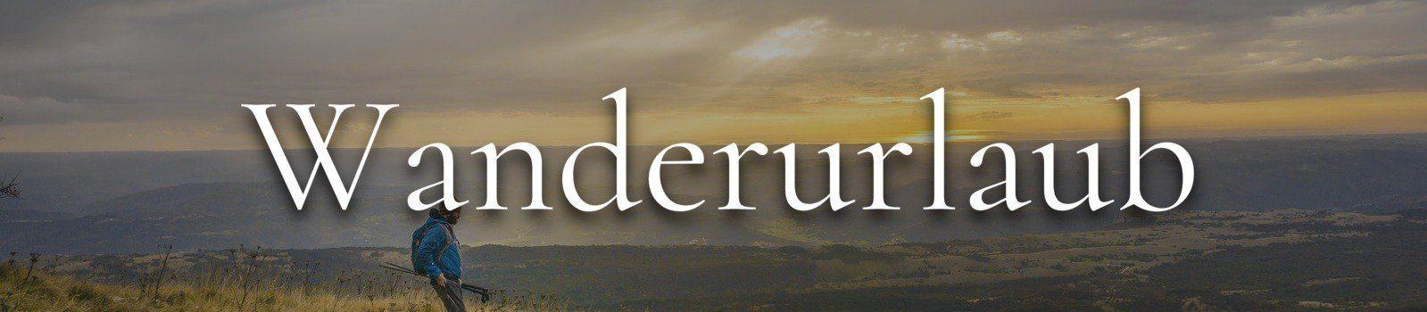 Wanderurlaub Banner