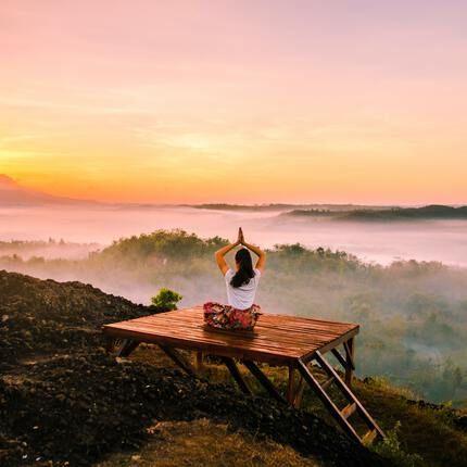 Yoga Urlaub Natur