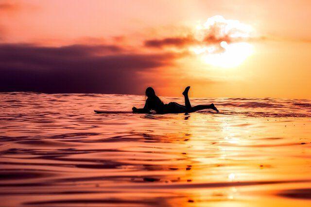 Yoga Surfen