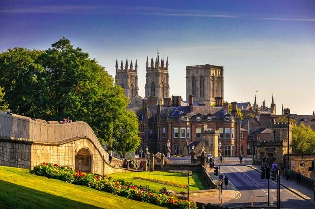 Visit Beautiful York Minster Cathedral