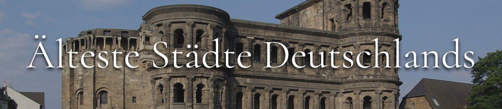 Älteste Stadt Deutschlands Banner