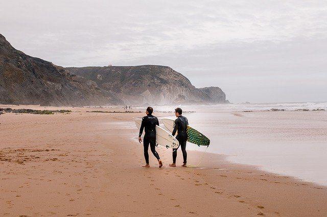 Algarve Portugal Surfers