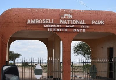 Amboseli National Park Entrance