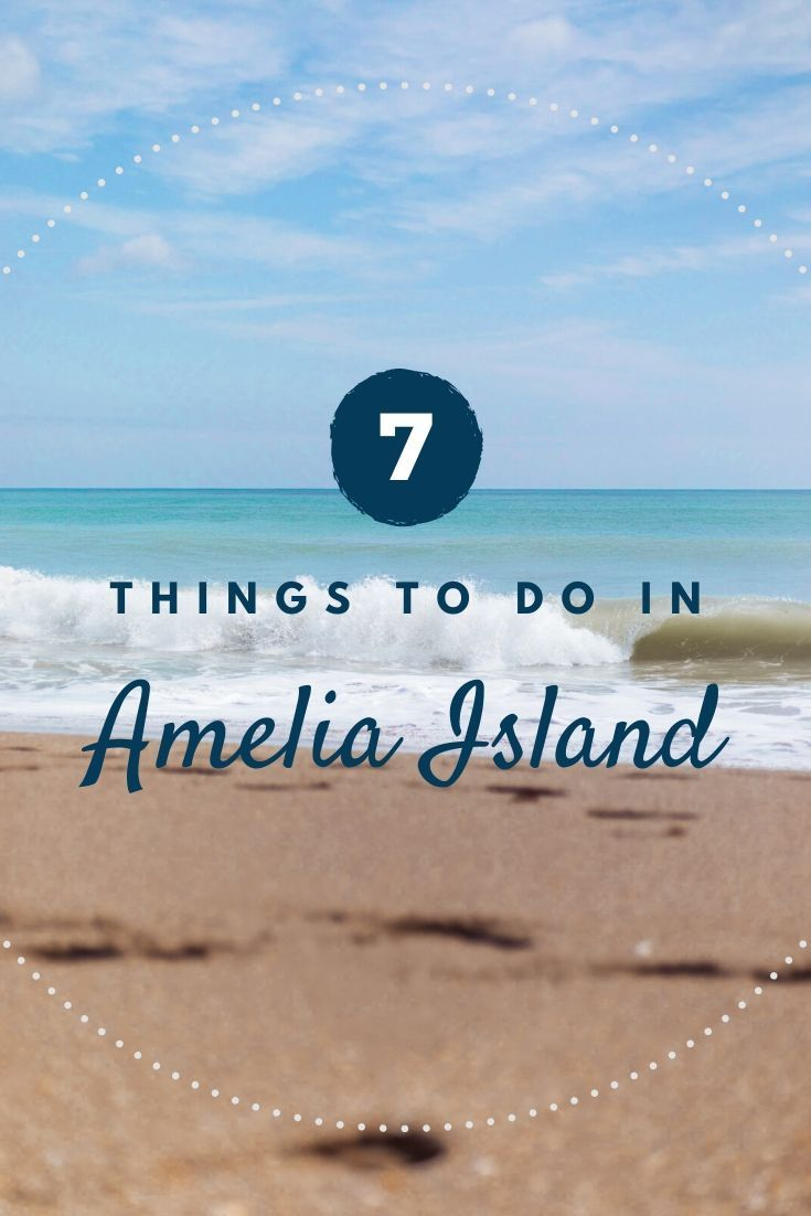 7 Things to Do in Amelia Island Pinterest