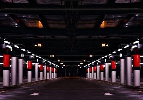 Overdekte parkeergarage Amsterdam