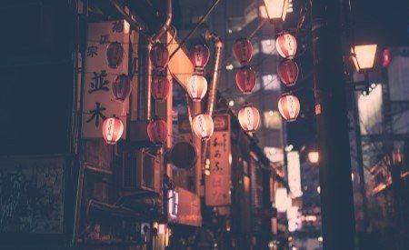 aziatische stad