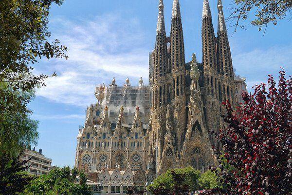 Eixample Barcellona sagrada familia