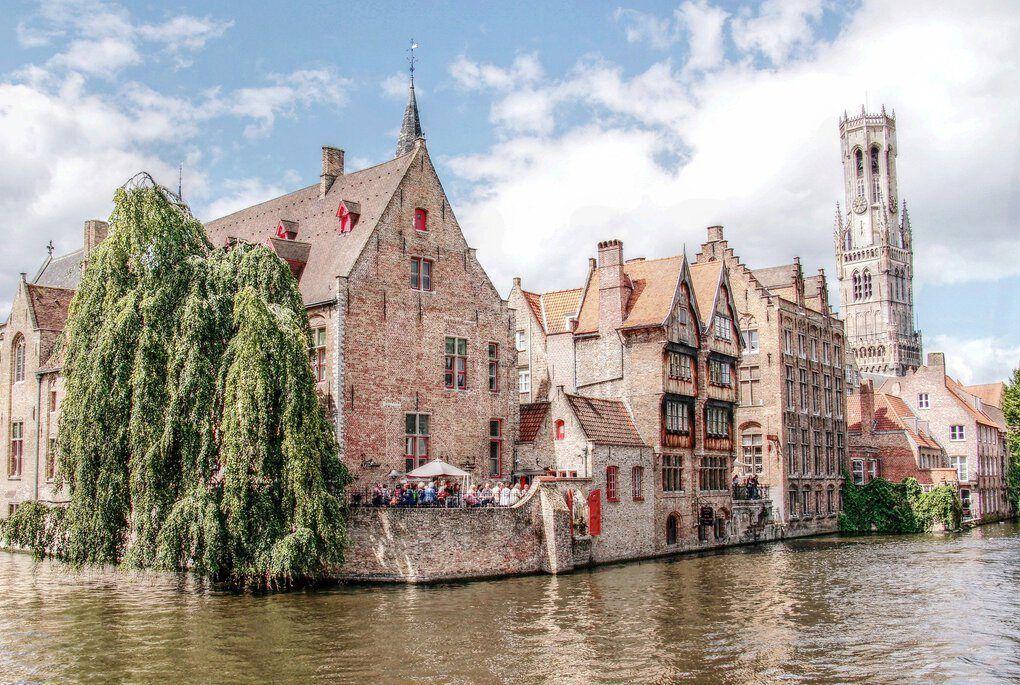 Brugge canals, Belgium