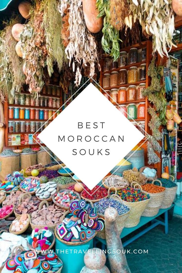 Best Moroccan Souks Pinterest Cover Photo