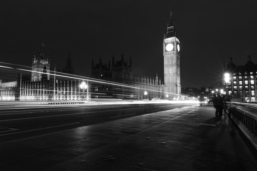 Big Ben zwart & wit