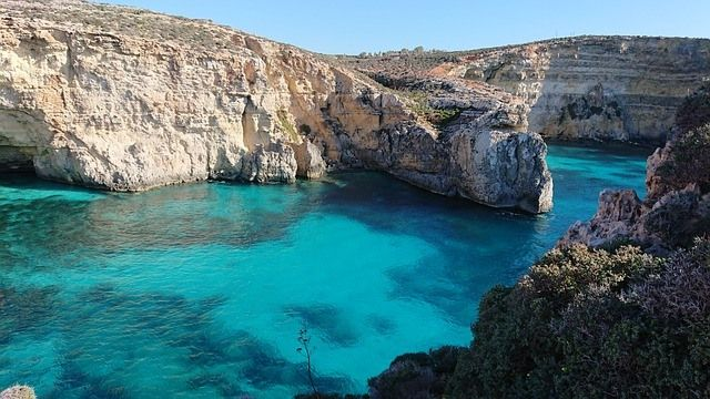 Swim in the Blue Lagoon on Malta