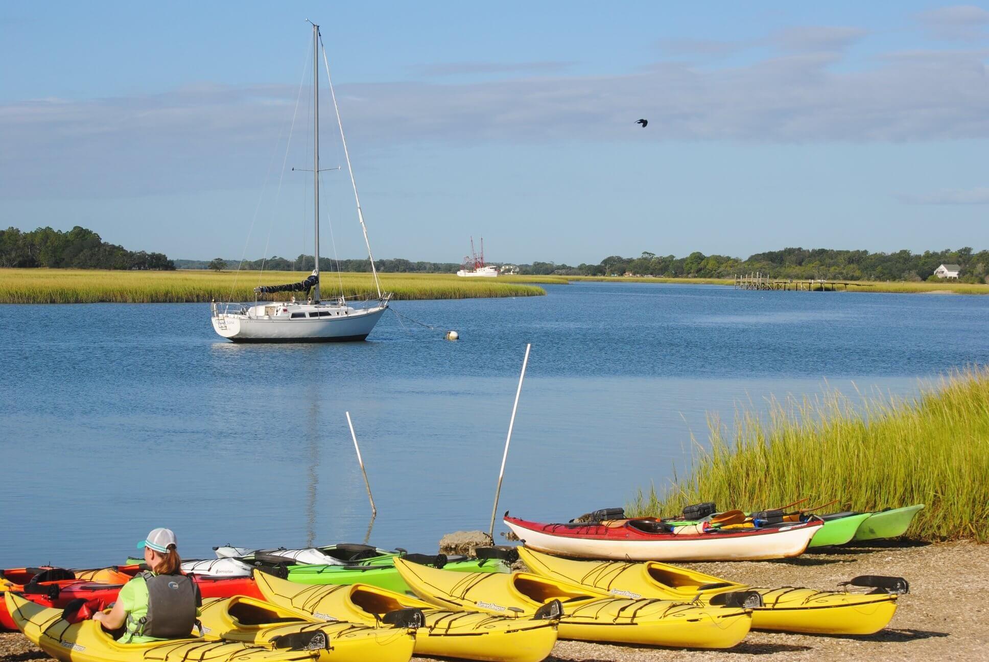 Folly Beach Kayak