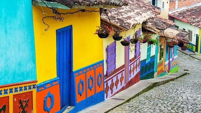 Kolumbien Bogota Straße