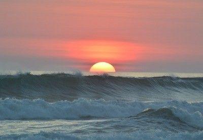 Costa Rica zonsondergang