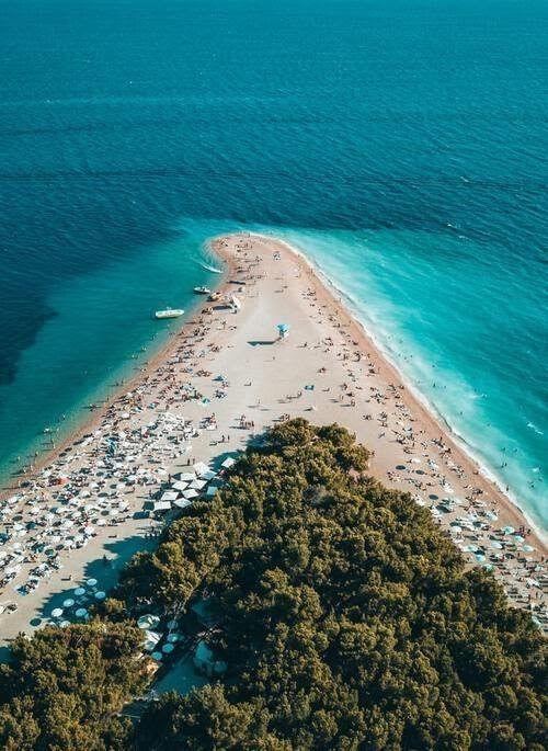 Beach in Croatia