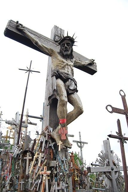 Visit the Hill of Crosses