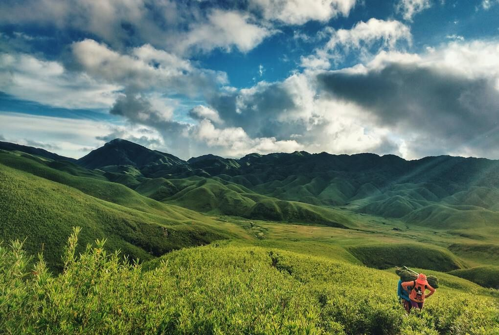 Hiking through the hills of Nagaland