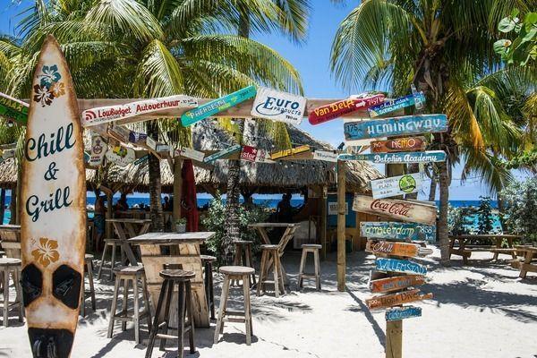 Curacao strandclub