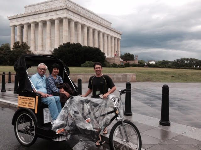 Kid Friendly Things to Do in DC - Pedicab
