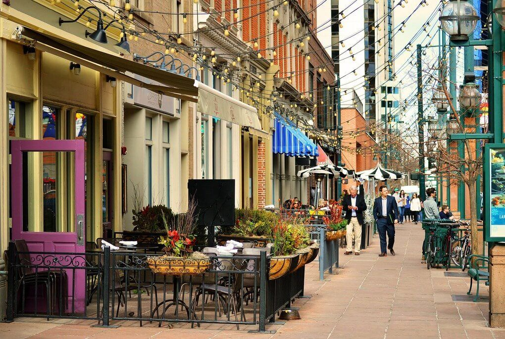 Larimer square outdoor cafes