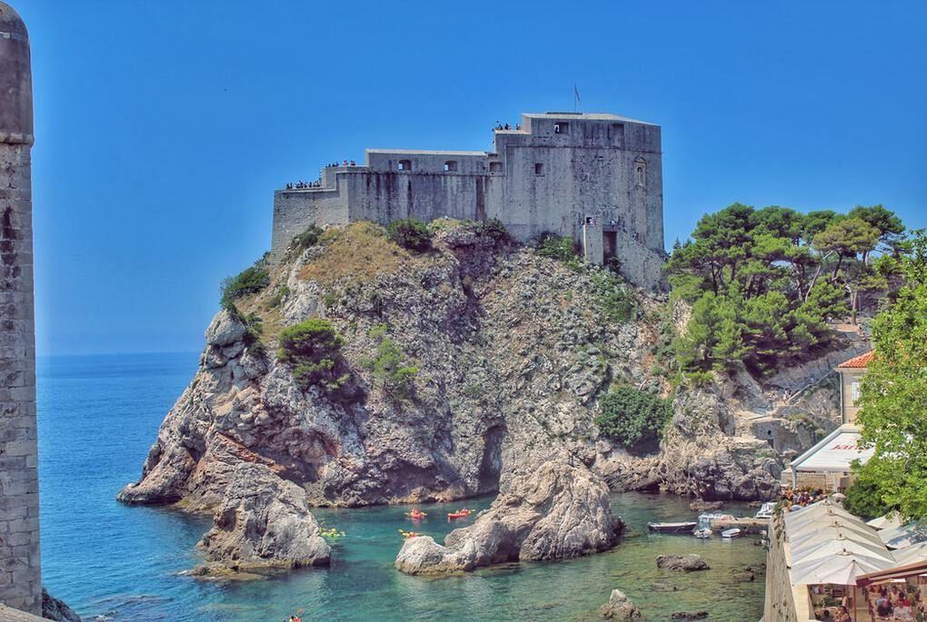 Fort Lovrijenacin dubrovnik