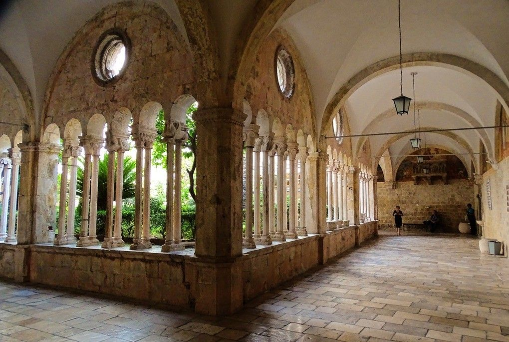 Fransiscan Monastery in Dubrovnik