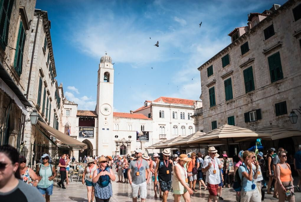 Old Town Market in Dubrovnik