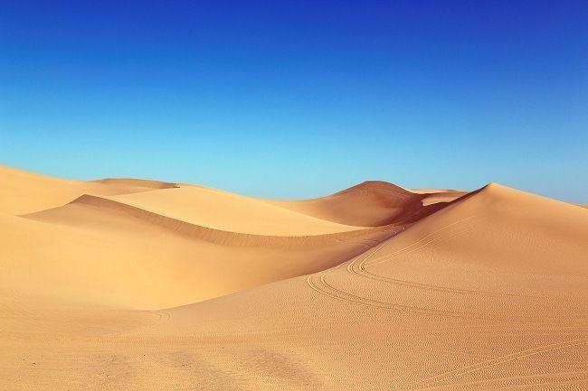 Dunes desert Maroc