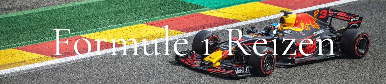 Formule 1 reizen