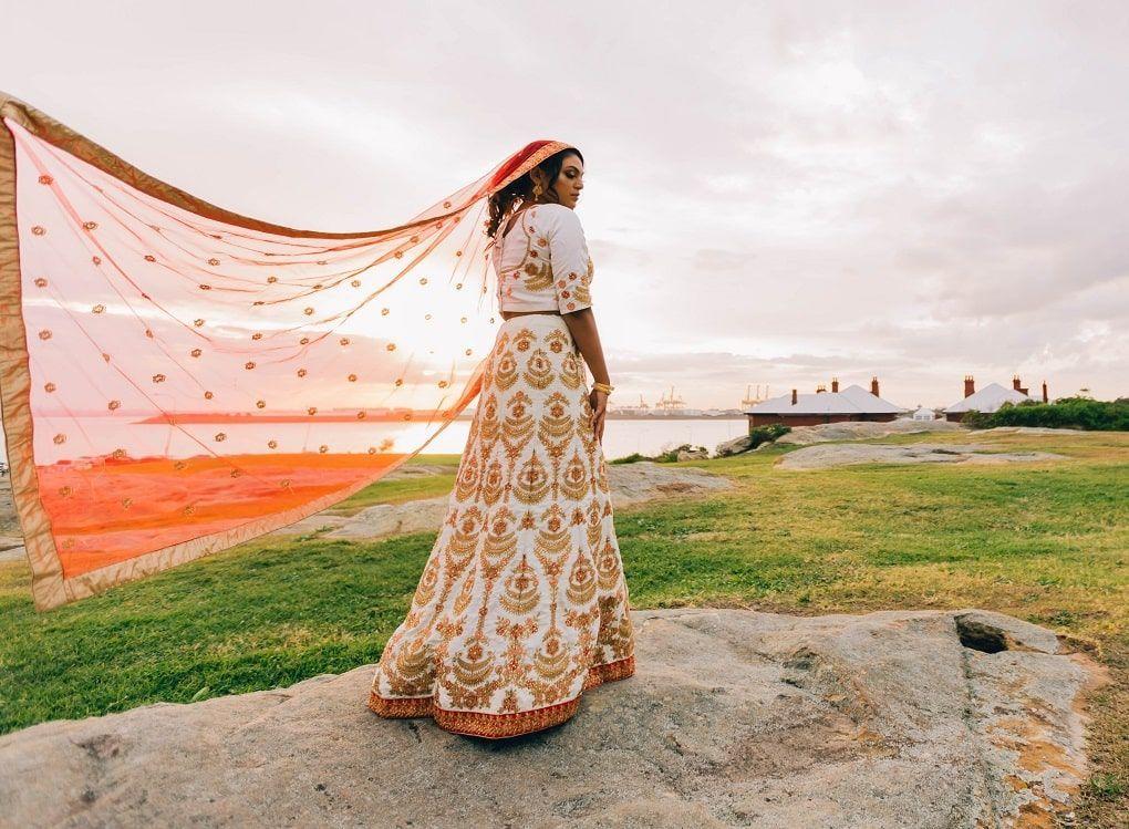 Femme Saree Inde